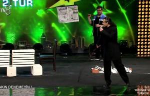 İhsan Şakir Uyar'ın 2.Tur performansı