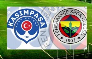 Kasımpaşa:0 Fenerbahçe:3