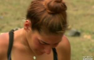 Ödül oyunu sonrasında Berna'nın gözyaşları!