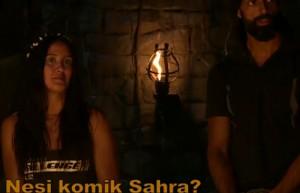 Pascal'ın vedası Sahra'yı neden güldürdü?
