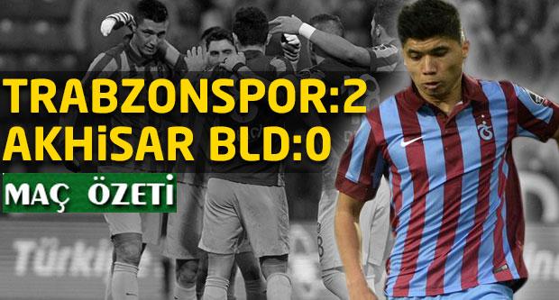 Trabzonspor:2 Akhisar Bld.Spor:0