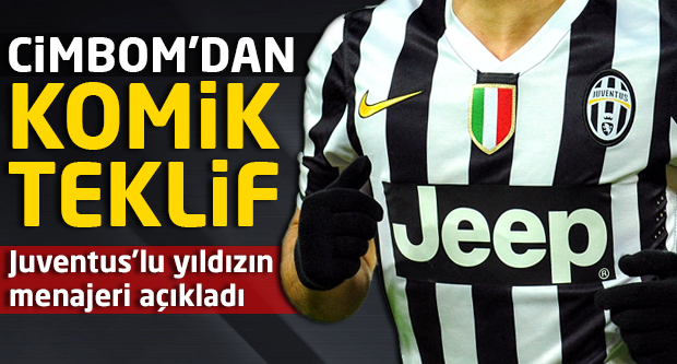 Juventus'un yıldızına G.Saray'dan komik teklif