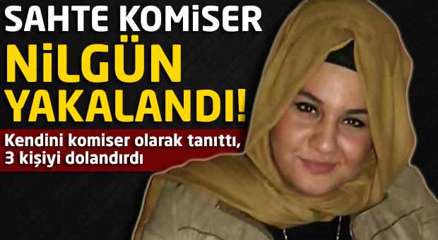 Sahte komiser İstanbul'da yakalandı