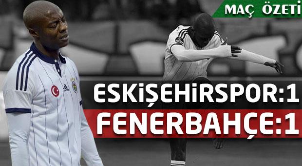 Eskişehirspor - Fenerbahçe | Spor Toto Süper Lig Maç Özeti