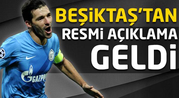Beşiktaş'tan resmi açıklama geldi! Danny...