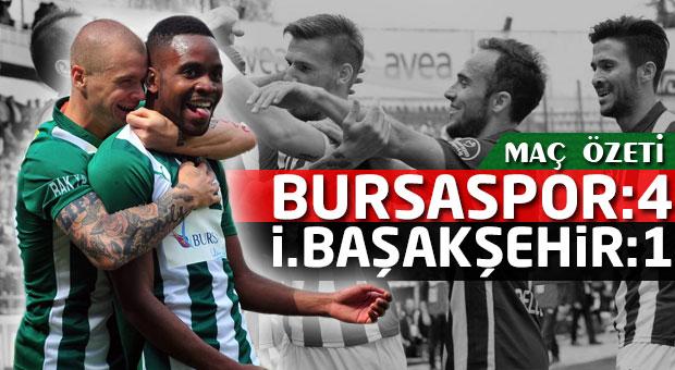 Bursaspor-İstanbul Başakşehir | Spor Toto Süper Lig Maç Özetleri