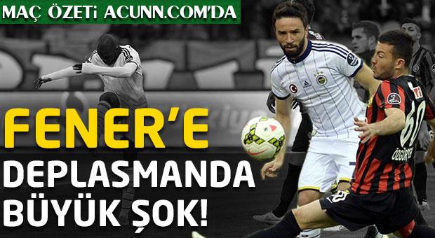 Fenerbahçe'ye deplasmanda büyük şok!