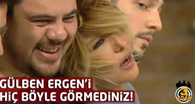 Gülben Ergen'i hiç böyle görmediniz