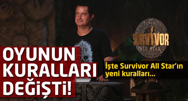 İşte Survivor All Star'ın yeni kuralları!
