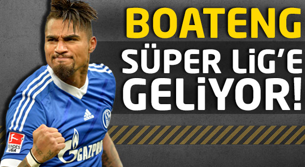Boateng Süper Lig'e geliyor!